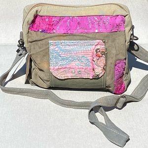 Vintage Addiction Hobo Crossbody Recycle Handbag